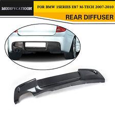 Carbon Fiber Auto Rear Lip Diffuser Fit for BMW E87 M-tech M-Sport Bumper 07-10