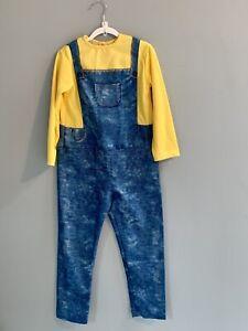 Despicable Me Minions Costume MINION BOB Jumpsuit Goggles Gloves Child Medium