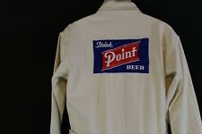 Vintage Point Beer Brewery Worker Coveralls Canvas Workwear Overalls Wisconsin