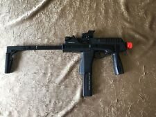 KWA KMP9 Gas Blowback Airsoft Submachine Gun (Color: Black w/ Grip) ORIGINAL BOX