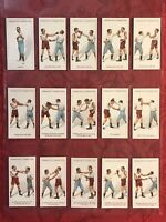 1924 FRANKLYN DAVEY & CO. BOXING COMPLETE 25 CARD SET-TOBACCO CARDS-N-MINT-WOW