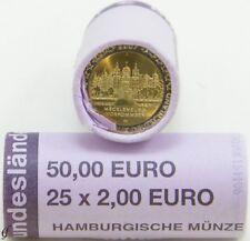 Rolle 2 Euro Gedenkmünzen Deutschland 2007 J Schweriner Schloss