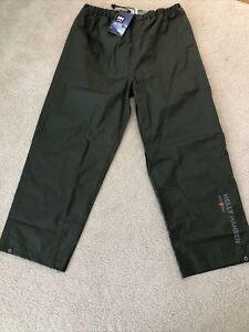 Helly Hansen Mandal Workwear Pants - Mens XL - Army Green - NEW -NWT