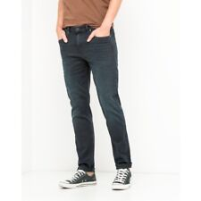 LEE Arvin BLUEBLACK NIGHT Tapered Stretch Jeans RRP £85 ( SECONDS ) L161
