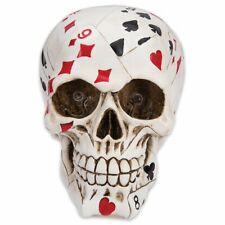 Lucky Bones Poker Face Skull 2-Color Led Lights - Free Shipping!