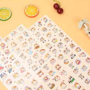 Colourful Cute animal cartoon Self-Adhesive children's crafts scrapbook stickers