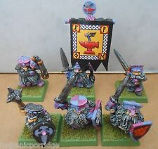 1990 Marauder Dwarf Longbeard Unit Citadel Pro Painted Longbeards Standard MM16