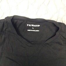 PRIMARK BLACK TEE  T-Shirt  L