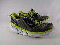 Hoka One One Womens Vanquish Black Green White Running Shoes US 9 1007869