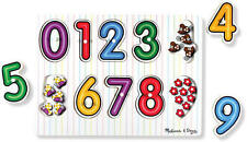 Puzzle e rompicapi multicolore in legno