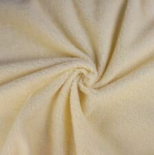 Panna in finta pelle di pecora Sherpa Fleece Fabric (al metro)