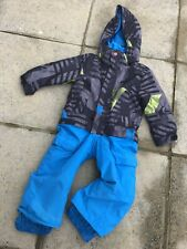 BOYS QUIKSILVER SNOW SUIT, SKI SUIT, AGE 2, GREAT CONDITION