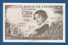 ESPAÑA // SPAIN -- 100 PESETAS ( 1965 ) -- SC- // aUNC -- SIN SERIE // NO SERIAL