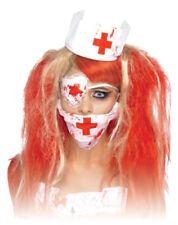 Bloody Nurse Set - Halloween Costume Carnival Mouthguard Eyepatch