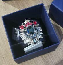 Entièrement neuf dans sa boîte BNWT Swarovski Crystal Shourouk Bracelet Manchette Argent RRP £ 325 Limited Ed.