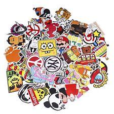 Sticker Decals Pack 100 Pezzi Adesivi Misti per Decorazioni Alta Qualità 6 12 cm