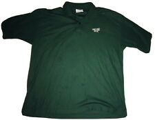 Vintage Rolling Rock Polo Shirt Green Beer Rare Size Xl