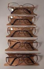 Vintage 5 pc. Sophia Loren M47 Portofino Green 56/17 Eyeglass Frame Lot Nos