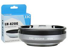 JJC Lens Hood + Adapter EBC Coating Filter +Cap Fujifilm X30 X20 X10 as LHF-X20