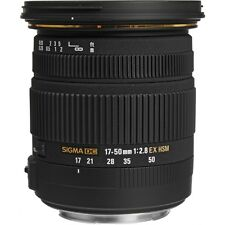 Sigma 17-50mm F2.8 EX DC OS HSM Lens For Canon 583954, (UK)