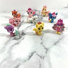 Disney Princess Palace Pets Glitter Figure Collection 9 Pieces Size 1.5 inches