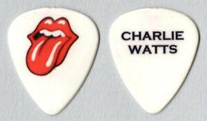 Rolling Stones  ~  Charlie Watts  Plektrum cd Guitar Pick Plectrum