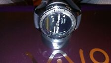 Samsung Galaxy Gear S3 frontier 46mm Stainless Steel Case Black Sport Band - (S…