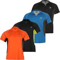 KARRIMOR Herren Laufshirt Running Zip T-Shirt Sport Shirt Gr. S M L XL XXL 2XL