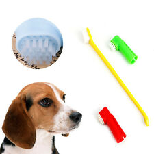 1Set Pet Cat Dog Tooth Finger Brush Dental Care For Pet Toothbrush Toothbrushes