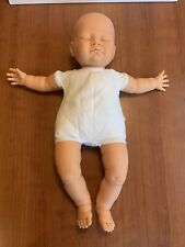 New ListingVintage 1984 Berjusa 21� Sleeping Newborn Vinyl & Cloth Baby Doll