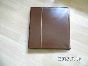 Bund Safe  Vordrucke Album von 1981 - 1989 Folienblatt