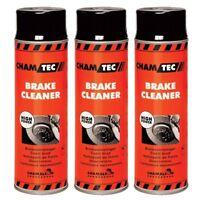 Teilereiniger 3 x 500ml Spray Bremsenreiniger Entfetter Reiniger Bremsen Cleaner