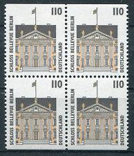 BRD Bund 1935 C + D postfrisch Viererblock SWK MNH aus MH 35  H Blatt 39
