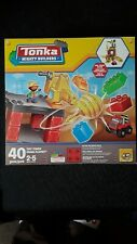 Tonka Mighty Builders Tuff Tower Crane Playset 40 Pcs