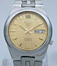 Vintage Seiko 5 Japan 7S26-02V0 21J Automatic See Through Back Men's Wrist Watch
