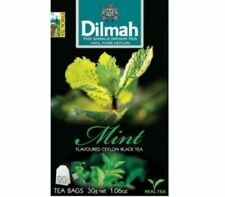 Ceylon Tea mint Flavored Ceylon Black Tea   Dilmah   20 TEA BAGS