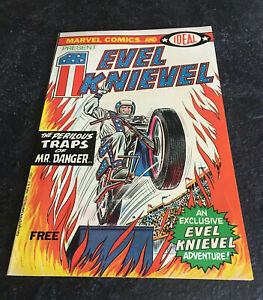 Vintage 1974 Marvel Evel Knievel Marvel Comic Book One Comic Near Mint