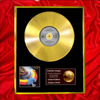 E.L.O OUT OF THE BLUE CD  GOLD DISC VINYL LP