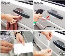 4 pcs Car Door Handle Paint Scratch Protector Film Stickers Transparent Clear OZ