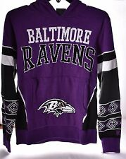 9532ed5e15d BALTIMORE RAVENS NFL Ugly Sweater (Hooded) Youth Small  NEW