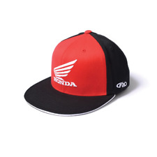 Factory Effex Official Honda Big Wing Caps Mens FlexFit Hats S/M 15-88344
