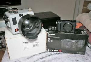 FAB Ikelite UNDERWATER Housing 6961.85 + DOME Port for Lumix GX80 Barely USED!