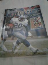 Barry Sanders / Christian Okoye Beckett Football Card Magazine #4 May 1990