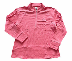 NWOT Footjoy FJ Womens XL Golf 1/4 Zip Long Sleeve Pullover Grayhawk Golf Club