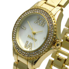 Henley Ladies Sparkling Diamante Watch – Mother of Pearl Face – Boxed #434