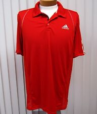 Adidas Short Sleeve Soccer Jersey Size Xl Extra Large Solid Red
