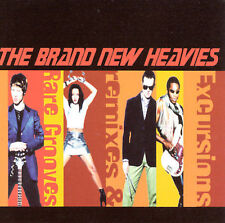 Excursions, Remixes and Rare Grooves Brand New Heavies MUSIC CD