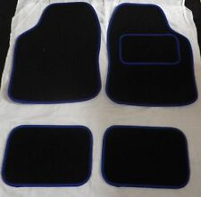 Blue trim and Black Car mats for NISSAN MICRA JUKE NOTE PIXO QASHQAI