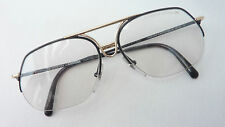de0f530da6e6 Porsche Design Mod. 5665 Kult- Men s Glasses Metal half Rim Gold-Black Size