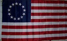 Betsy Ross Flag New 3x5 ft  revolutionary war flag better quality usa seller